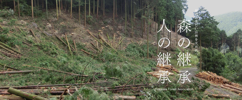 福岡の美しい山林を次世代へ 森の継承 人の継承 Fukuoka Forest Association